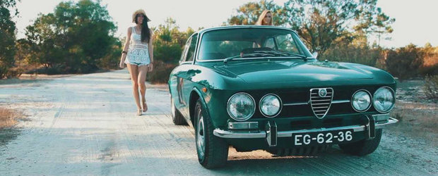 Plaja, soare si fete sexy. Sau cum sa vinzi o Alfa Romeo 1750 GTV