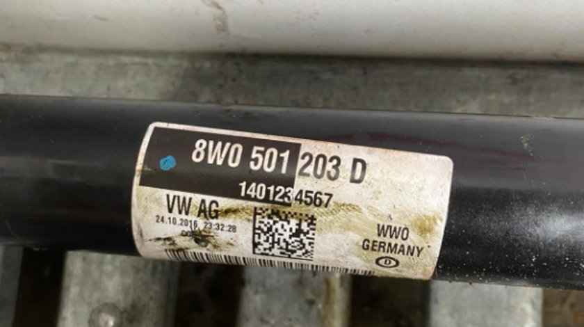 Planetara Spate 8W0501203D Audi A4 B9 (8W) , Audi A5 9T (8W) 2.0tdi 4X4