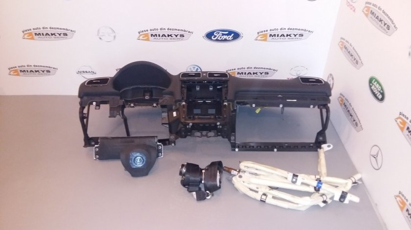 Plansa bord+airbag-uri+centuri VW Golf 6.Pretul nu include centurile