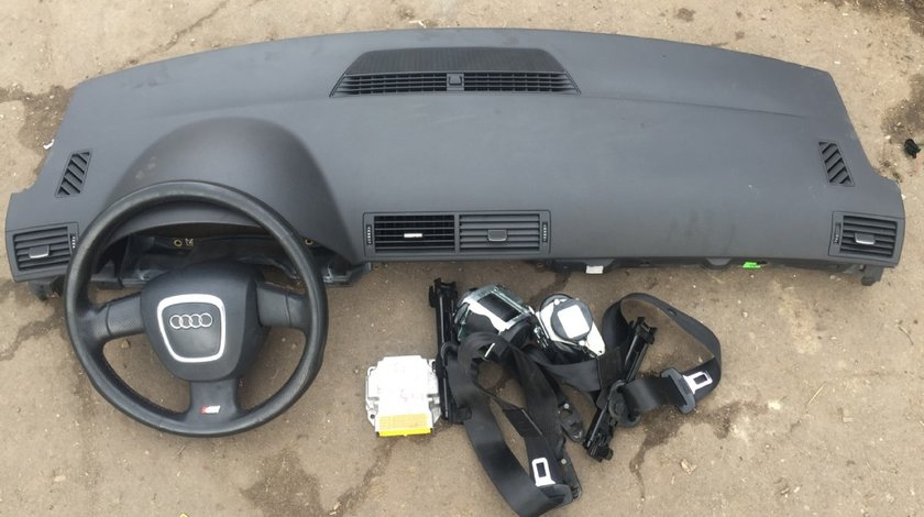 Plansa bord cu airbag si centuri AUDI A4 B7 2005 2006 2007 2008