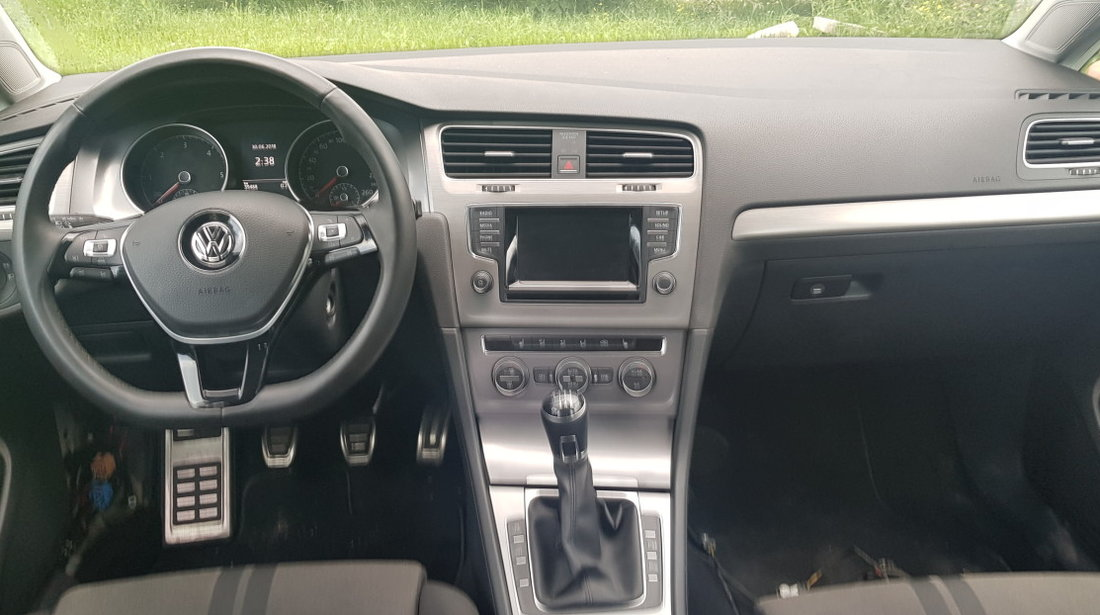 Plansa bord cu airbag Vw Golf 7 2013 2014 2015 2016
