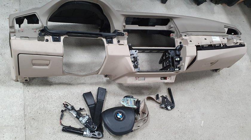 Plansa bord cu airbaguri si centuri BMW Seria 5 F10 2011 2012 2013