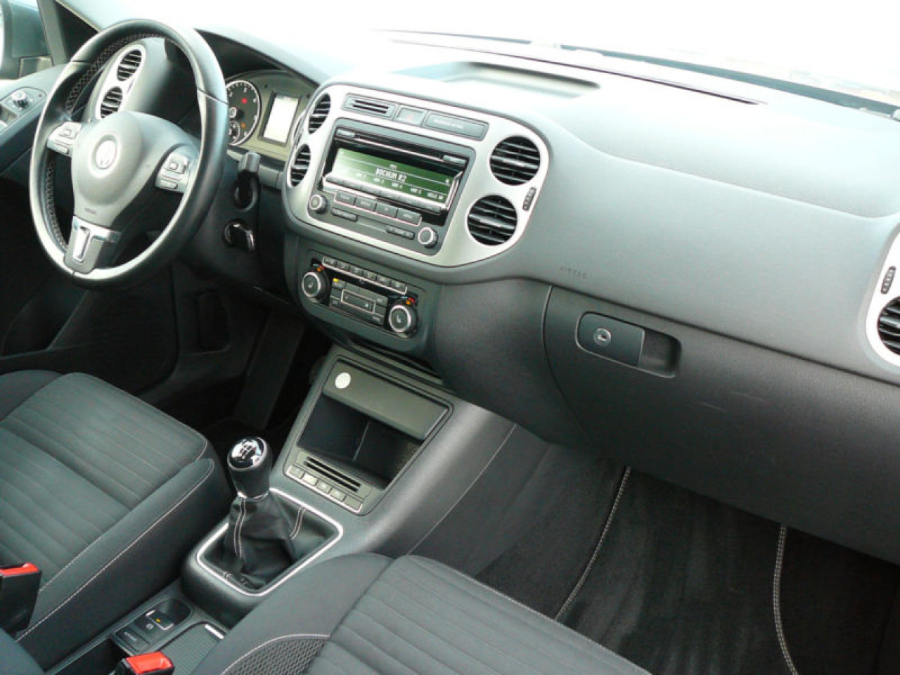 Plansa bord cu airbaguri VW TIguan 2012 2013 2014 2015