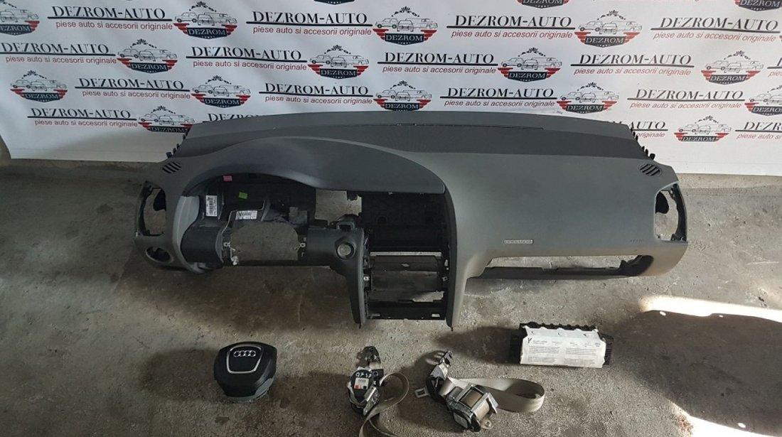 Plansa bord culoare gri airbag volan airbag pasager audi q7