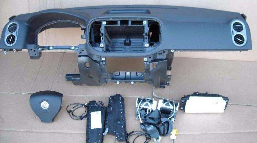 Plansa bord + Kit airbag-uri VW Tiguan 2008-2011