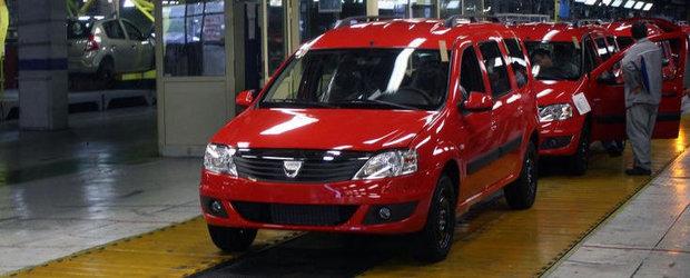 Planul Renault pentru Romania: Investitiile vor depasi 2 miliarde euro pana la finele lui 2012