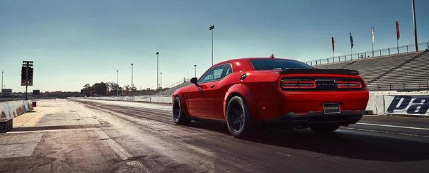 Planuri mari pentru Dodge Challenger SRT Demon: peste 1.500 de cai si o parasuta de franare