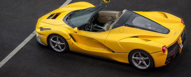 Planurile Ferrari pentru 2015: Un 458 Italia Turbo si doua noi versiuni LaFerrari