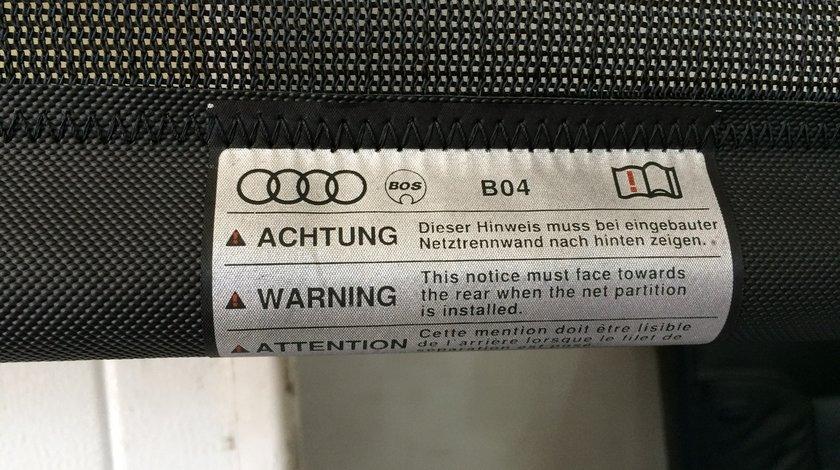 Plasa despartitoare spate pentru bagaje sau animale Audi Q3 Q5 A4 A6 Allroad
