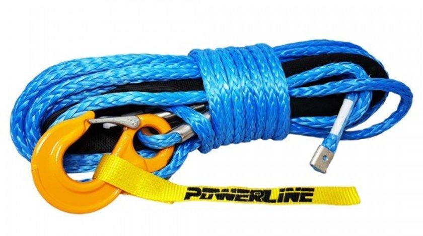 Plasma, cablu sintetic, sufa sintetica de 12mm x 28m pentru troliu