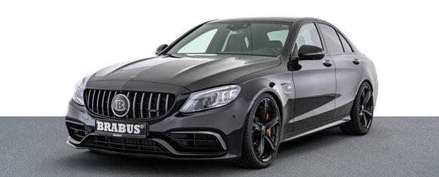 Platesti 162.000 de euro si iei acasa un Mercedes-AMG C63 S deja tunat de Brabus. Cati CP are