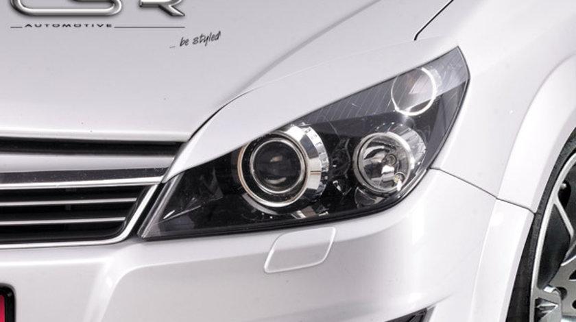 Pleoapa far Opel Astra H plastic negru