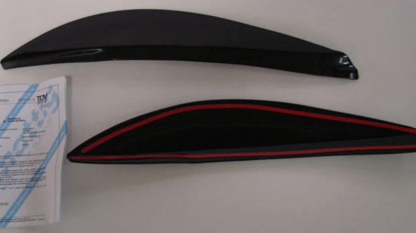 Pleoape far Opel Astra G plastic Negru