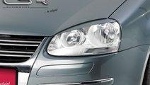 Pleoape far VW Golf 5 intre 2003-2010 plastic Negr...