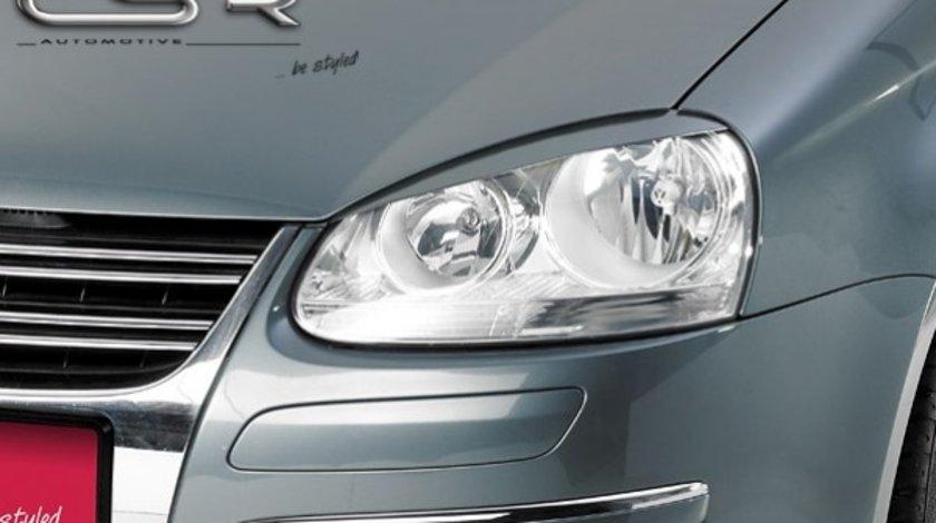 Pleoape far VW Golf 5 intre 2003-2010 plastic Negru