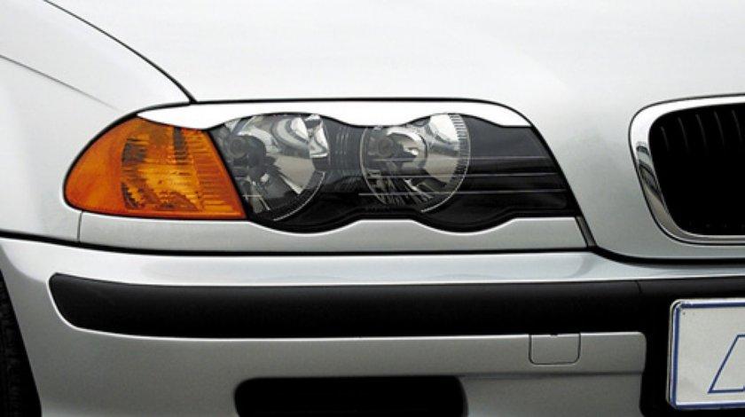 Pleoape faruri BMW E46 Seria 3 SB012 non facelift limo touring 1998 2001