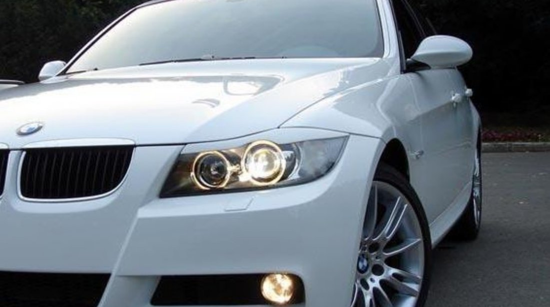 Pleoape Faruri BMW E90 CALITATEA I PLASTIC ABS