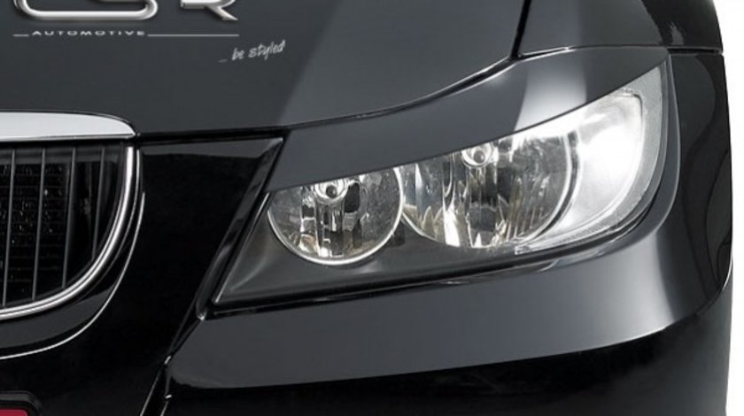 Pleoape faruri BMW E90/E91 Sedan Touring negru