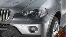 Pleoape faruri BMW X5 X6 E70 E71 Plastic ABS 45 EU...