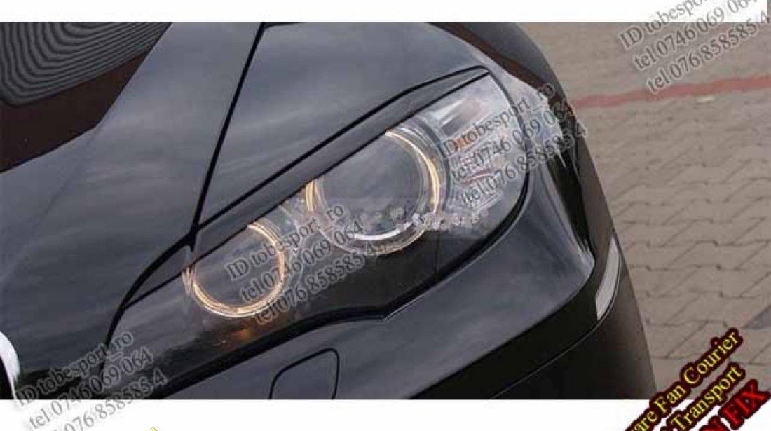 Pleoape faruri BMW X5 X6 E70 E71 Plastic ABS 45 EURO SETUL