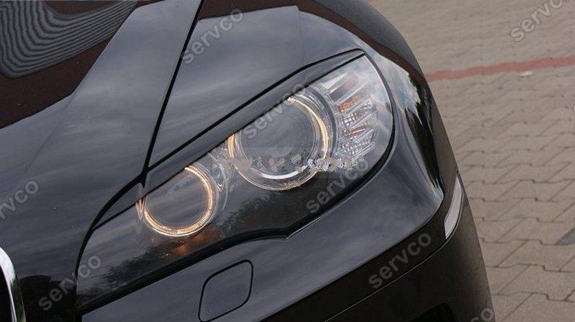 Pleoape faruri BMW X6 E71 plastic ABS