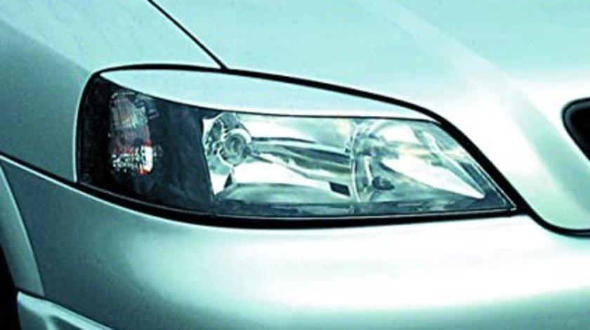 Pleoape faruri Opel Astra G plastic negru