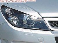 Pleoape faruri Opel Astra H model din fibra sticla