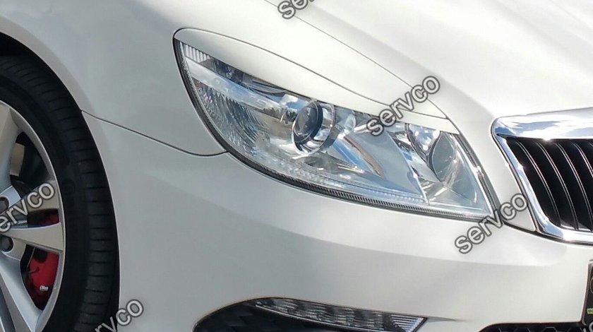 Pleoape faruri Skoda Octavia 2 Facelift 2009-2013 ABS v2
