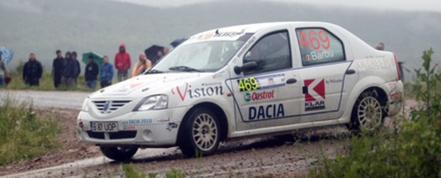 Ploaia, cel mai greu adversar de la Cluj pentru echipajul 469 Sebastian Barbu/Razvan Hulea