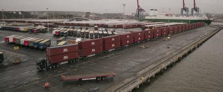 Poate un singur camion Volvo sa traga o incarcatura de 750 de tone?