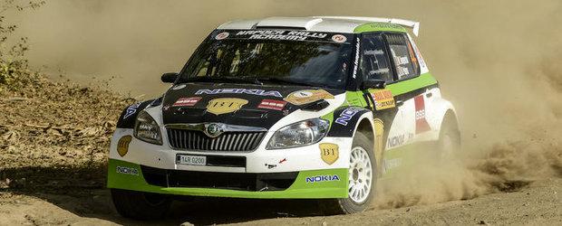 Podium pentru Napoca Rally Academy la Raliul Iasului