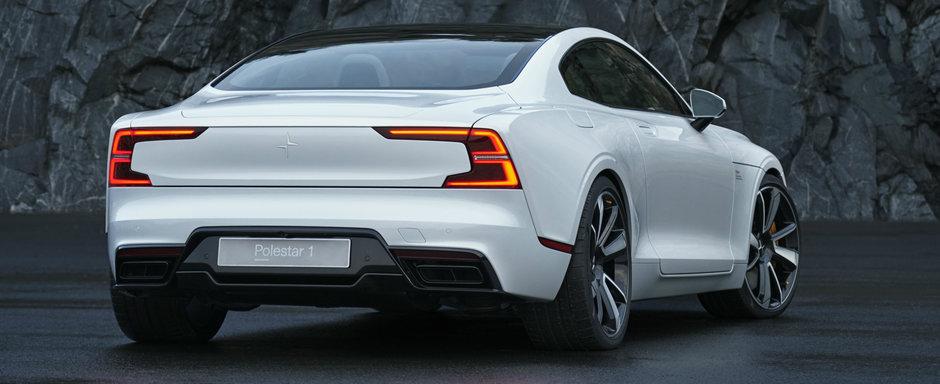 Polestar a anuntat PRETUL noului coupe hibrid cu 1.000 NM cuplu. Peste 7.000 de clienti se bat deja pe el