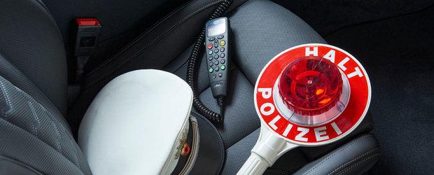 Politia a primit un BMW cu motor de 620 CP si tractiune integrala in standard. Poze reale