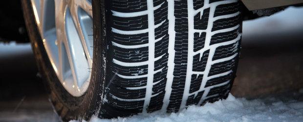 Politia anunta deschiderea sezonului anvelopelor de iarna. Amenzi de pana la 2.900 de lei daca esti prins fara