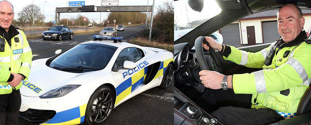 Politia Britanica a primit si ea un McLaren MP4-12C. Pe cand si la noi?