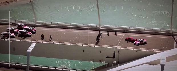 Politia din Abu Dhabi stie sa-si faca marketing printr-un film spectaculos cu urmariri de masini
