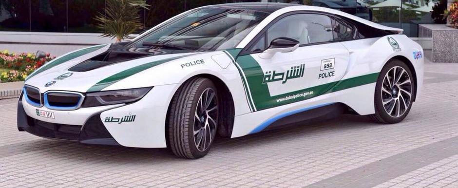 Politia din Dubai isi completeaza flota cu... un automobil hibrid