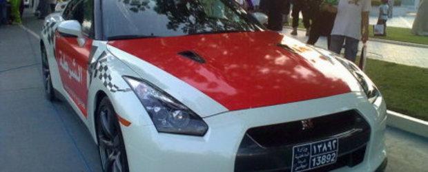 Politia din Dubai patruleaza in Nissan GT-R