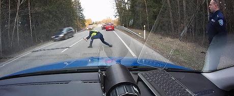 Politia estoniana ne arata exact ce ii lipseste Politiei Rutiere din Romania