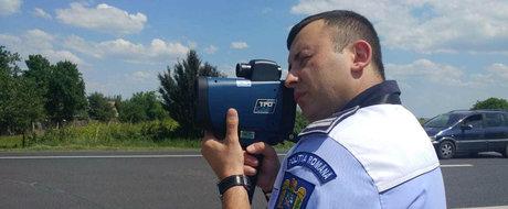 Politia iese la vanatoare de vitezomani. TOATE radarele din ROMANIA vor fi puse in functiune simultan maine