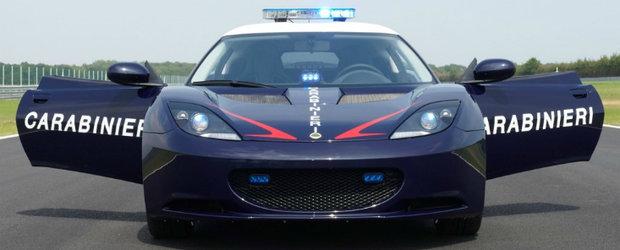 Politia Romana primeste un Lotus Evora S
