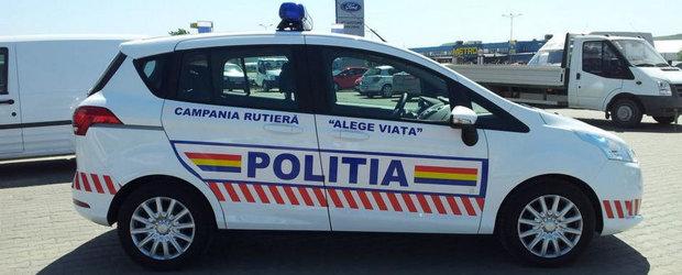 Politia Rutiera din Iasi a primit recent un Ford B-Max