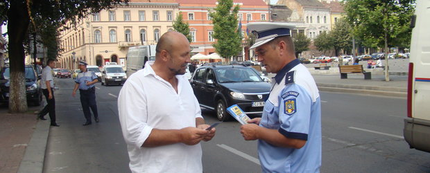 Politia Rutiera isi face treaba si in timpul liber!