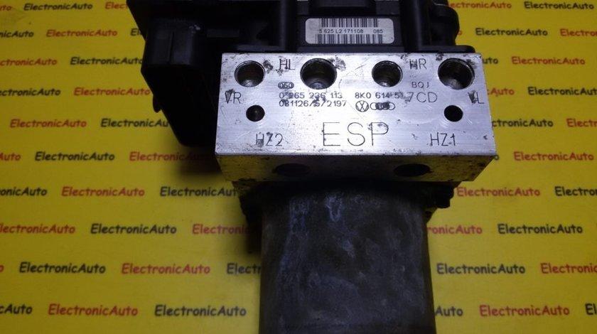 Pompa ABS Audi A4 8K0614517CD, 0265236113