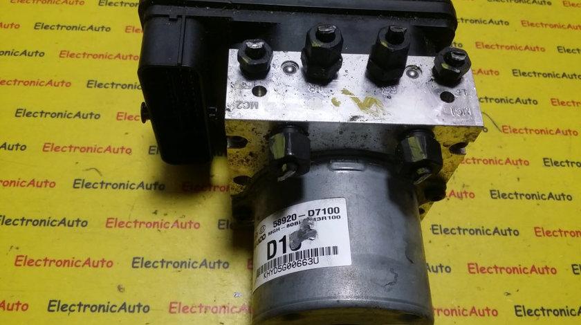 Pompa ABS Hyundai KIA BE6003R100, 58920D7100