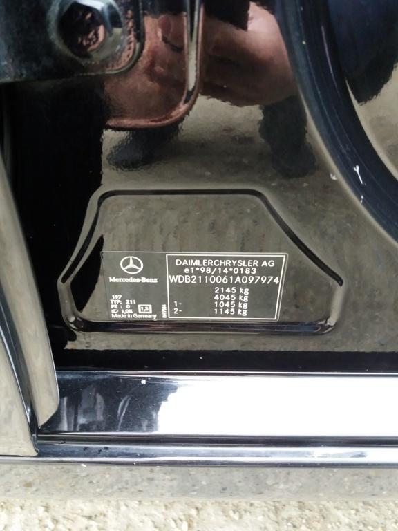 Pompa ABS Mercedes E-CLASS W211 2002 berlina 2.2