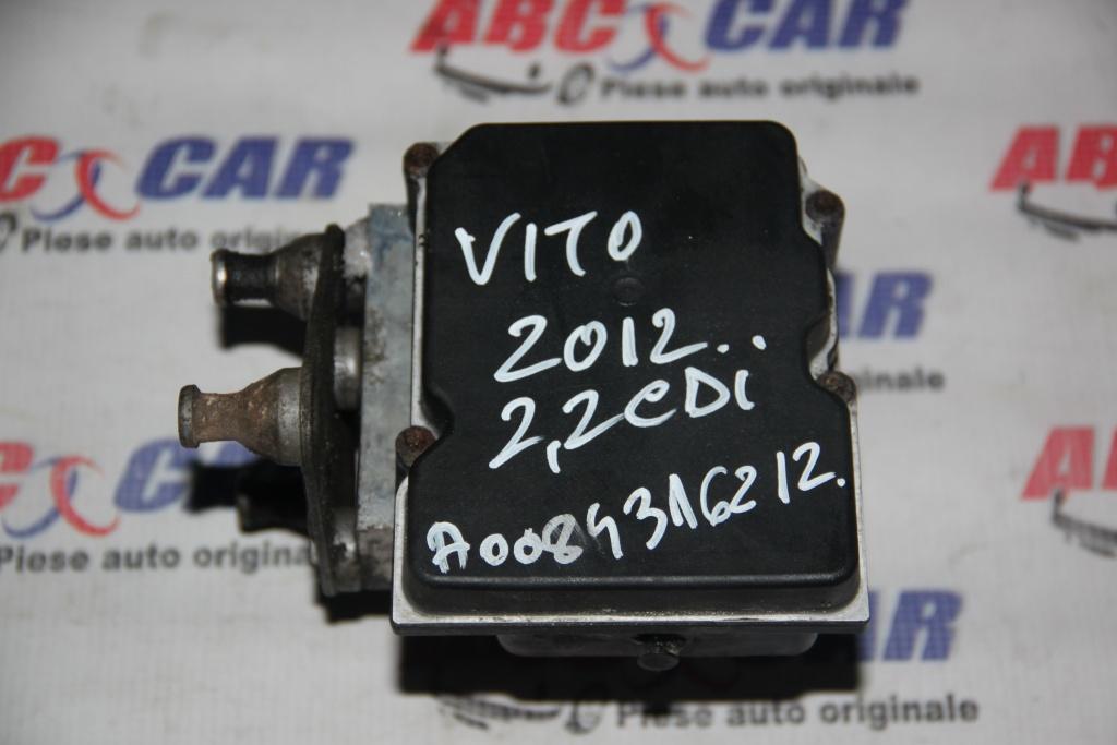 Pompa ABS Mercedes Vito W639 2.2 CDI cod: A0084316212 model 2012