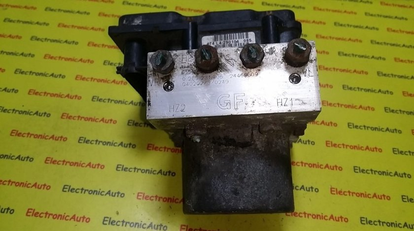 Pompa ABS Opel Corsa 24469609, 0265231306