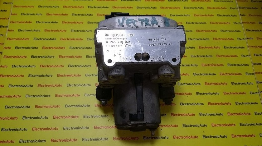Pompa ABS Opel Vectra B 0265220024, 90468702,