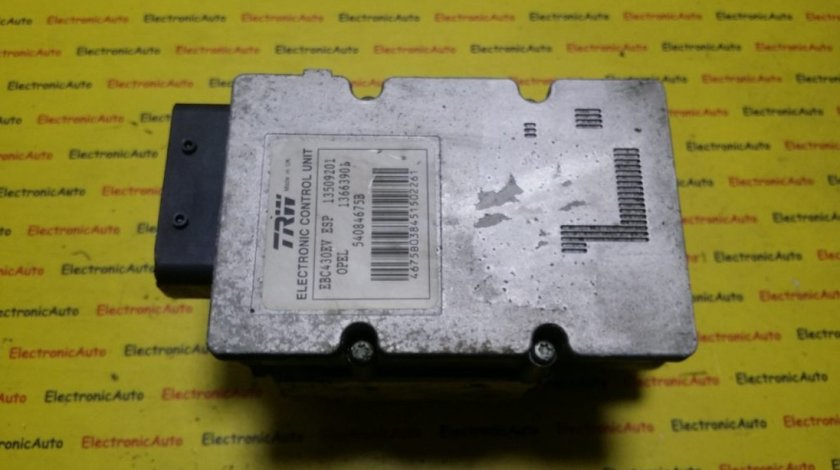 Pompa ABS Opel Vectra C 13509201, 09191497